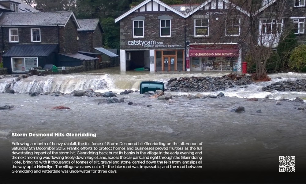 Glenridding Beck in Full Flood - December 2015
